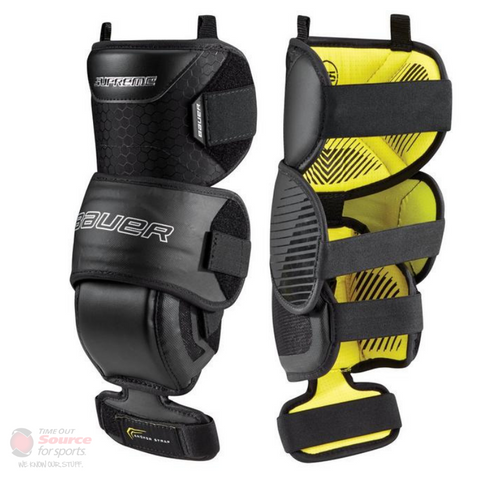 Bauer S18 Supreme Goalie Knee Guard - Junior