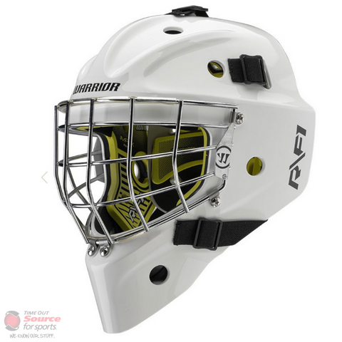 Warrior Ritual F1 Goalie Mask- Junior