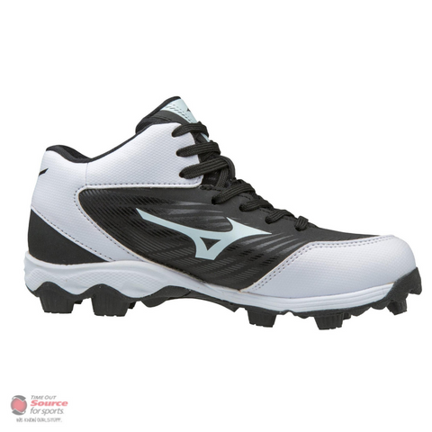 Mizuno 9-Spike Advanced Franchise 9 Mid Moulded Baseball Cleat- Youth (2019)