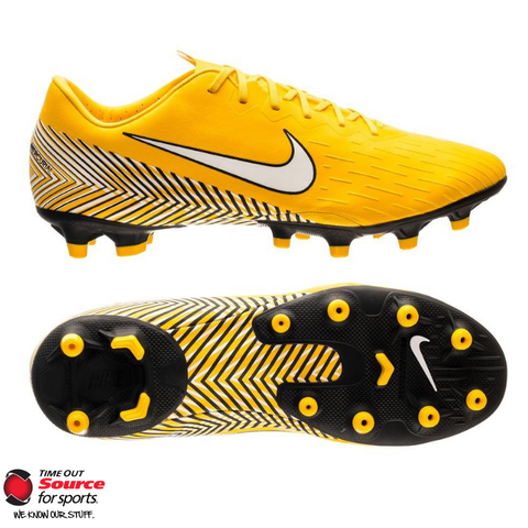 Nike Mercurial Vapor XII Academy Neymar Soccer Cleats- Amarillo/White/Black- Junior