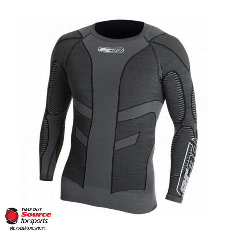EC3D 3D Pro Compression Long Sleeve Shirt- Charcoal