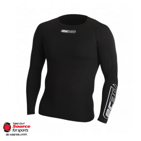 EC3D 3D Pro Compression Long Sleeve Shirt- Black