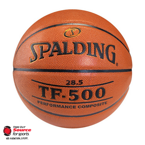 Spalding TF-500 Composite Leather Basketball - Size 28.5