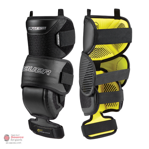Bauer Supreme Goalie Knee Guards- Junior (2018)