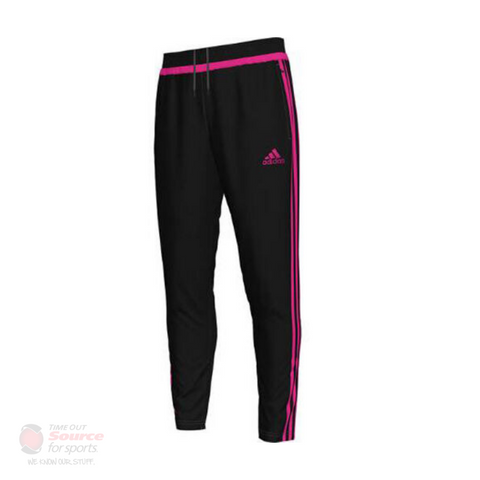 Adidas Tiro 15 Training Pant- Black/Pink- Youth