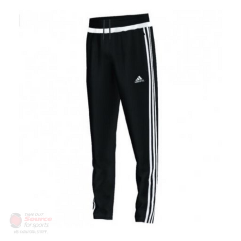 Adidas Tiro 15 Training Pant- Black/White- Youth