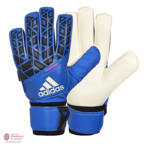 Adidas Ace Fingersave Goalie Gloves- Senior- Blue