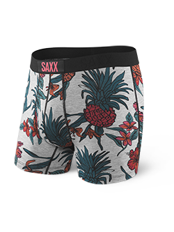 Saxx Ultra Everyday Boxers- Heather Pineapple