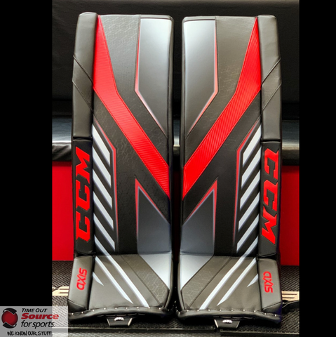 CCM Axis Goalie Pads- Senior
