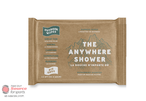 Anywhere Shower- 1x2 Wipes