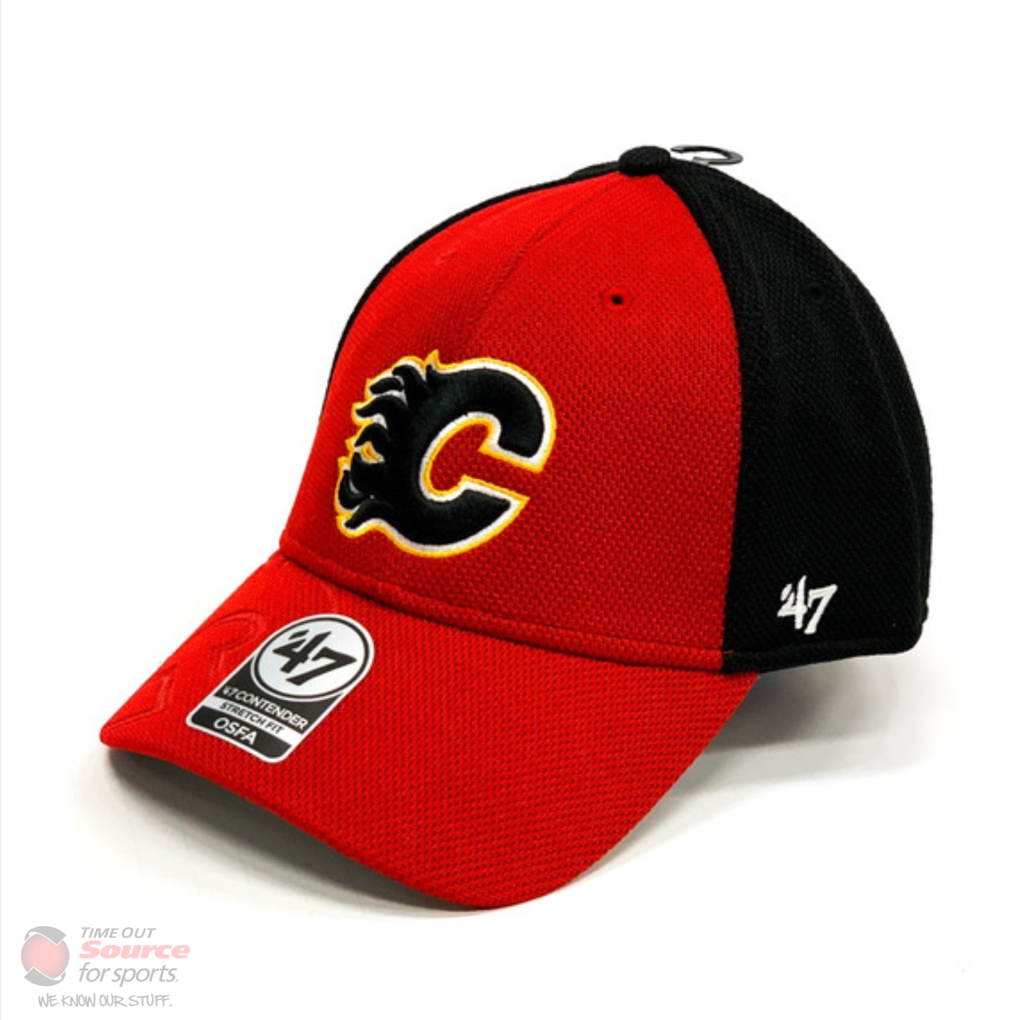 '47 Nexum Contender Stretch Fit Hat- Calgary Flames