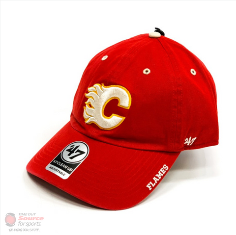'47 Clean Up NHL Hat- Calgary Flames