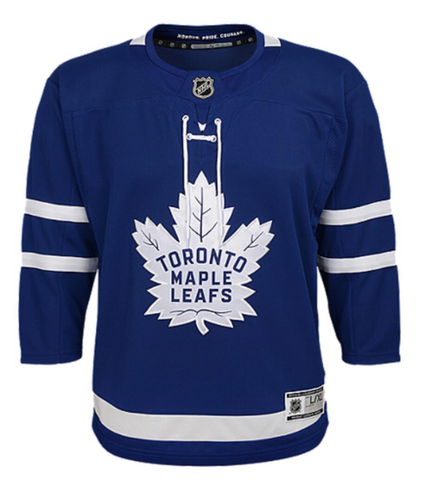 Outerstuff Premier Toronto Maple Leafs Jersey- Youth