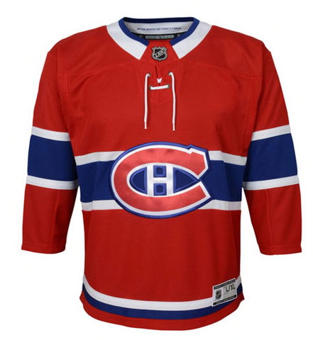 Outerstuff Premier Montreal Canadians Jersey- Youth
