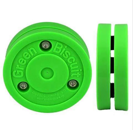 Green Biscuit Pro Stick Handling Puck