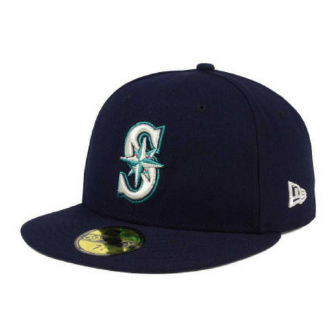 New Era 59Fifty Fitted Baseball Cap - Seattle Mariners