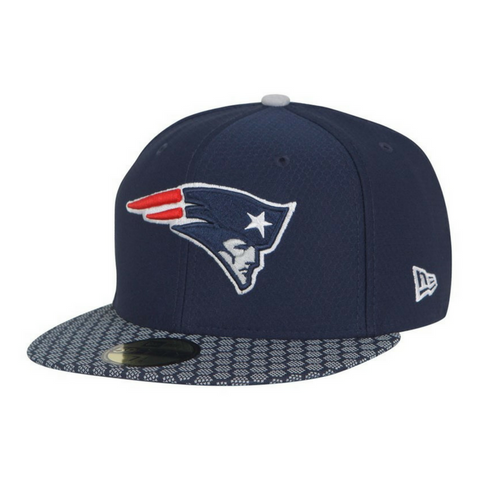 New Era 59Fifty NFL On-Field Fitted Hat - New England Patriots