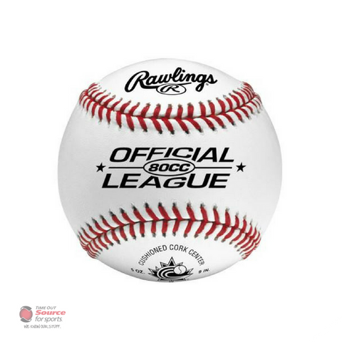 Rawlings 80CC Official League Baseball