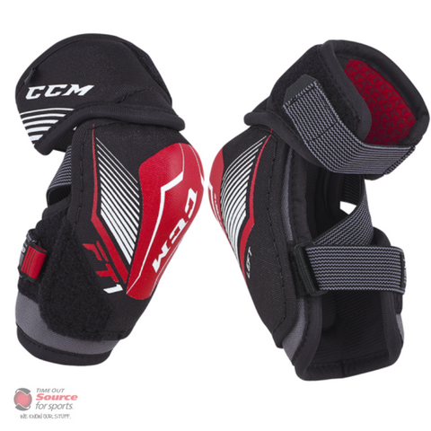 CCM JetSpeed FT1 Hockey Elbow Pads- Youth