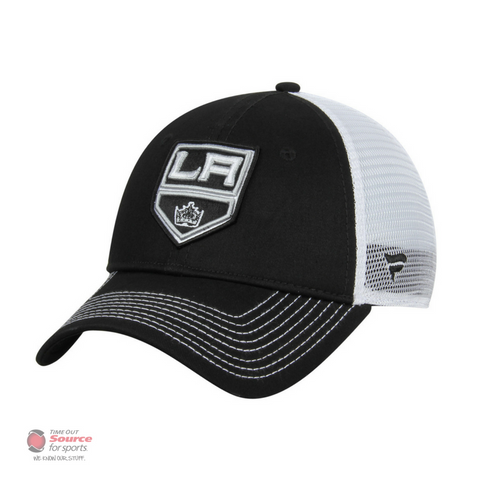 Fanatics Core Trucker Adjustable Snapback Hat - Los Angeles Kings