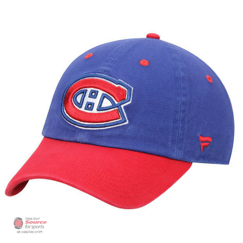Fanatics Iconic Fundamental Adjustable Hat - Montreal Canadiens