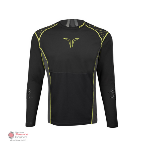 Bauer Premium Grip Long Sleeve Hockey Shirt - Senior
