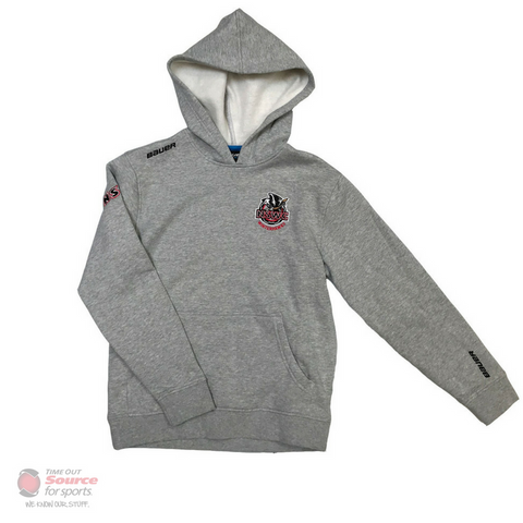 Bauer NSWC Winterhawks Grey Hoodie- Youth