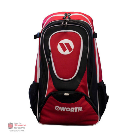 Worth WORGBP Player Backpack - Red/Black