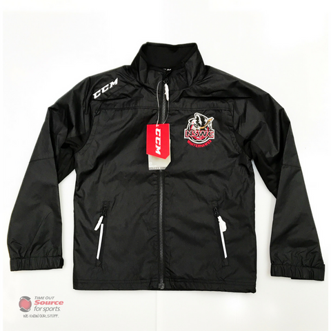 CCM Premium NSWC Track Jacket - Youth (Black)