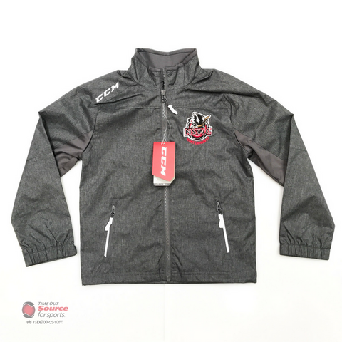 CCM Premium NSWC Track Jacket - Youth (Grey)