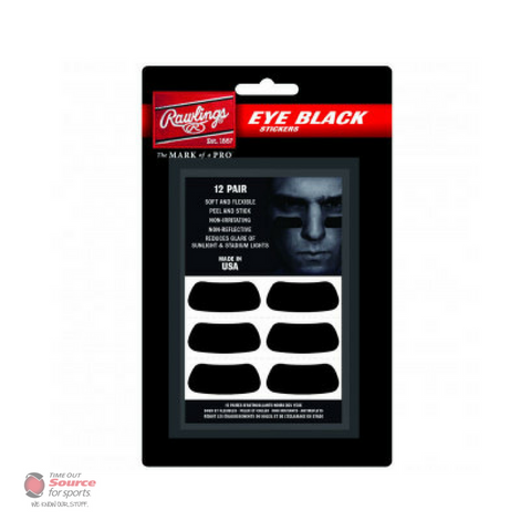 Rawlings Eye Black Stickers (Pack of 12)