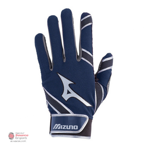Mizuno MVP Batting Gloves - Navy- Adult (2018)