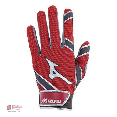 Mizuno MVP Batting Gloves -Red- Adult (2018)