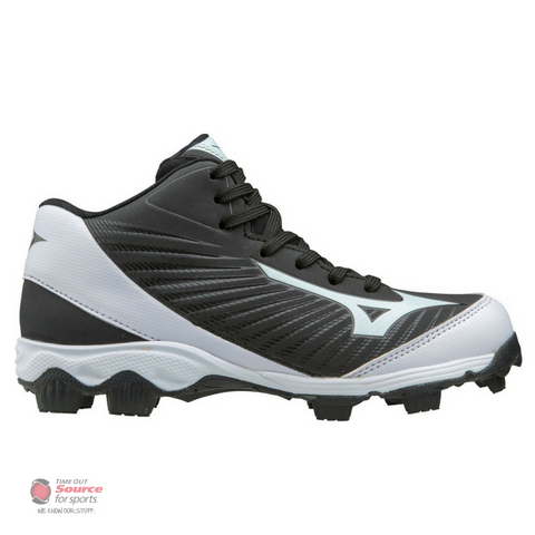 Mizuno 9-Spike Advanced Franchise 8 Mid Molded Baseball Cleats - Junior