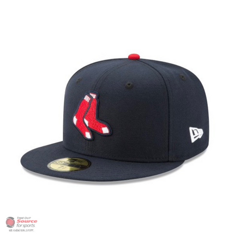 New Era 5950 Fitted Hat- Boston Red Socks