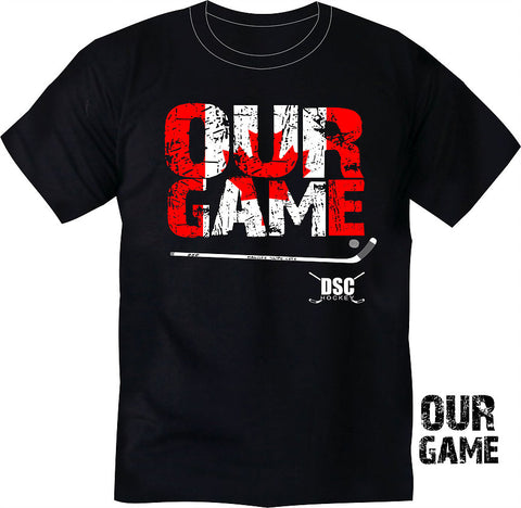DSC Hockey T Shirt - Our Game