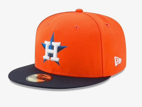 New Era 59Fifty Batting Practice Fitted Hat- Houston Astros