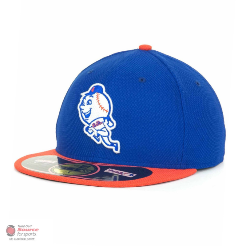 50e80d6a4ee701 New Era 59Fifty Batting Practice Fitted Hat- New York Mets | Time Out Sports