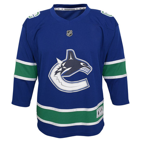Outerstuff Premier Vancouver Canucks Jersey- Elias Pettersson- Youth