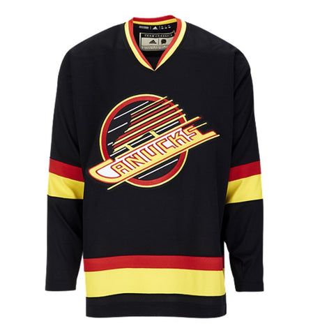 Adidas Team Classic Vancouver Canucks Vintage Jersey- Men's