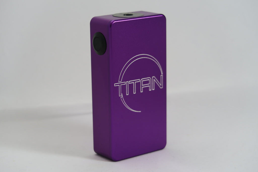 Titan V2/Parallel Black Hardware - Silver Steam Vapor - Silver Steam Vapor - Silver Steam Vapor - 2