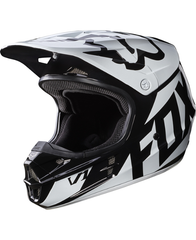 Fox V1 Race Helmet ECE 2017 Black Adult