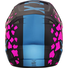 Fox 2017 V1 ECE Womens Ladies Helmet Black Pink Adult MX Dirt Bike