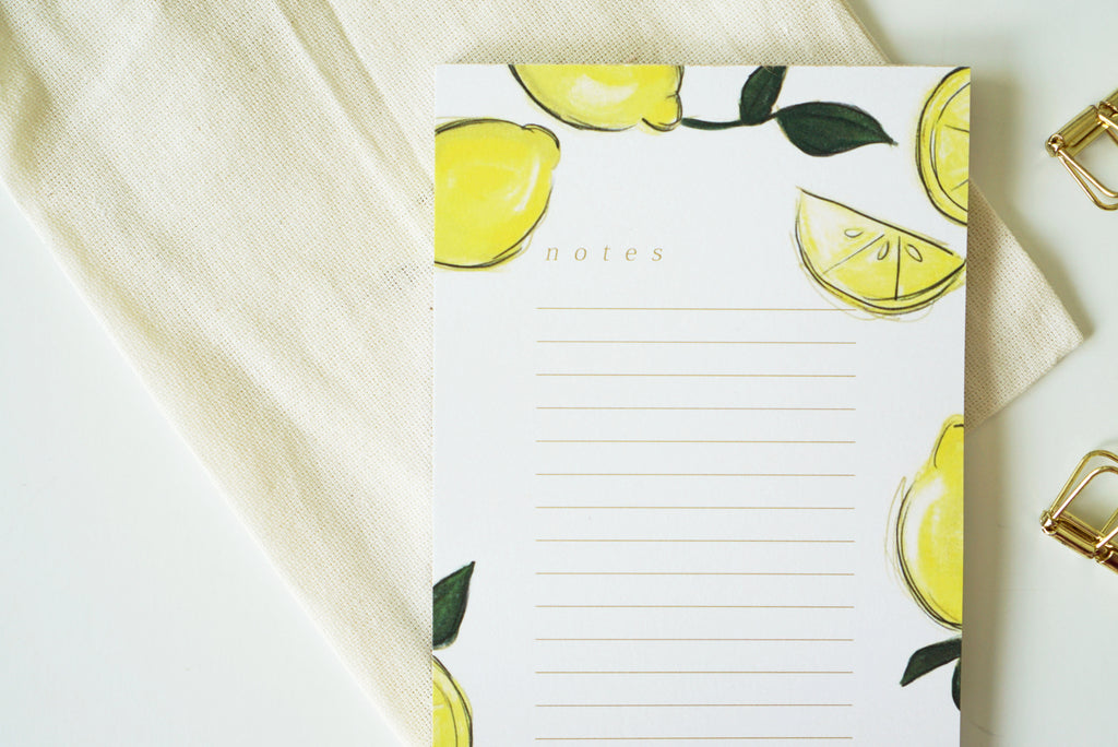 Lemon Notes
