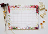 Floral Monthly Planner - Ginably - 2