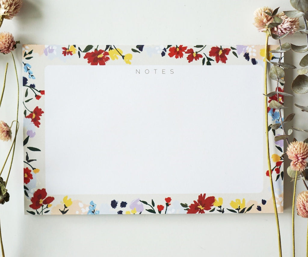 Floral Neutrals Notepad