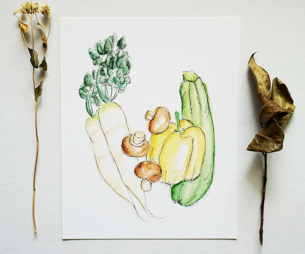 Vegetable Medley No. 3 - Ginably