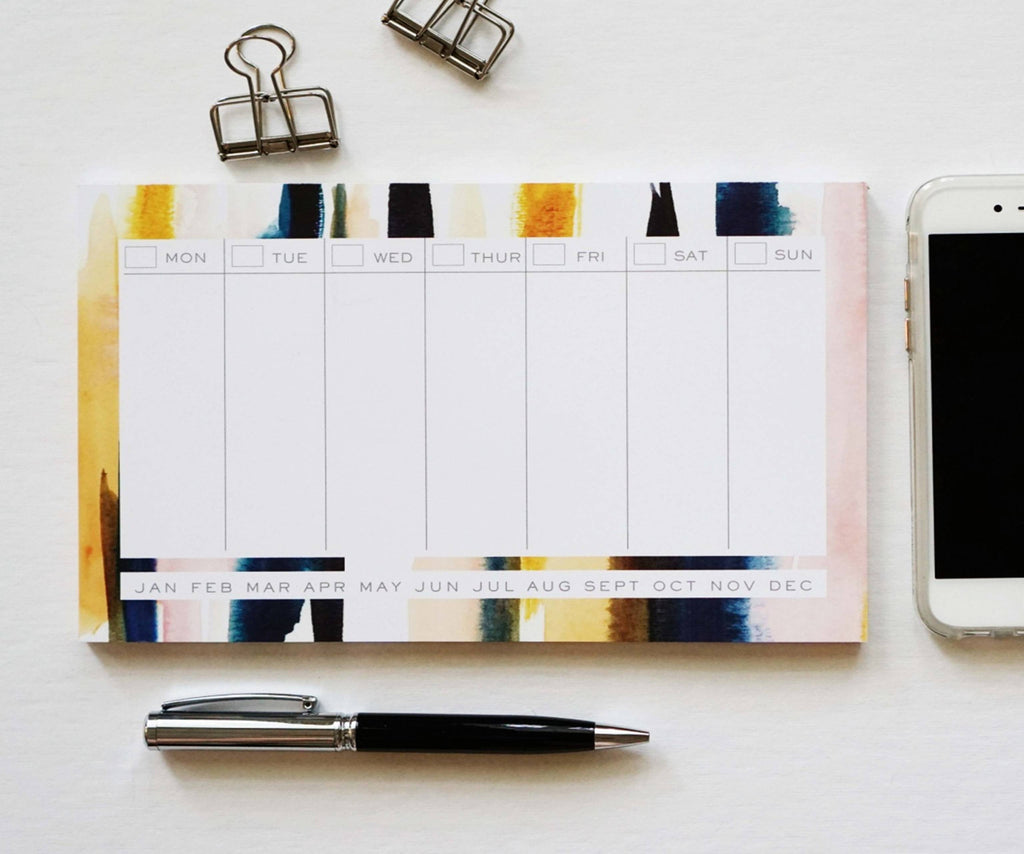 Mini Weekly Planner - Ginably - 1
