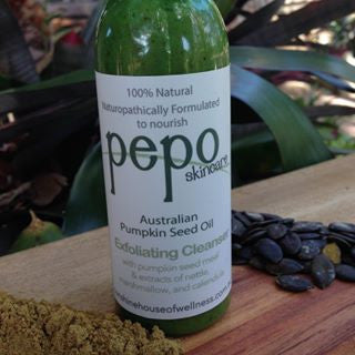 PEPO Skincare Australian Pumpkin Seed Meal Exfoliating Cleanser