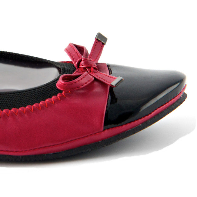 Red foldup flats - Fit in Clouds